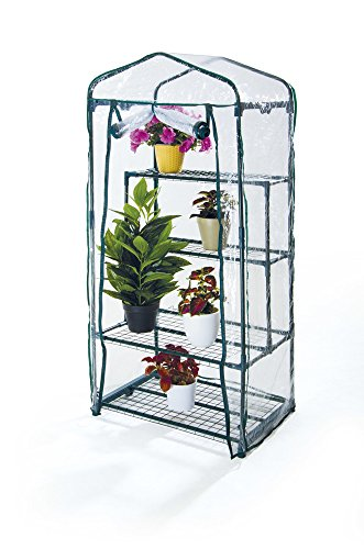 VERDELOOK Telo di ricambio per serra in PVC trasparente, per articoli cod: 647/2 - 647/3, altezza 157 cm larghezza 69x49 cm