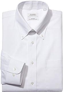Men's Classic Fit Solid Color Button Down Collar Dress...