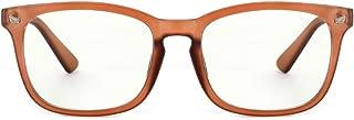 Cyxus Blue Light Blocking Glasses for Women Men UV Filter Square Frame Computer Gaming Reading Eyeglasses Anti Eye Strain Headache Better Sleeping