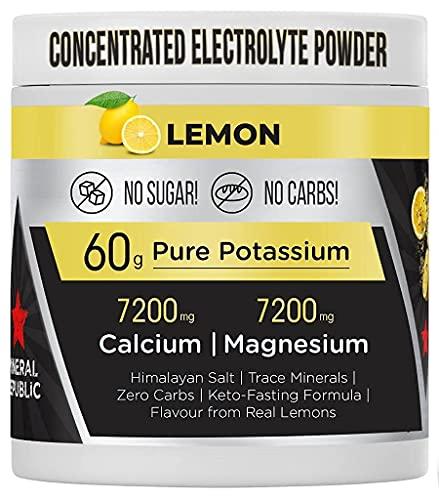 Honest Electrolyte Powder: elettroliti senza zucchero ad alta potenza/elettroliti Keto a zero calorie con magnesio, potassio concentrato in polvere, sodio e minerali Keto   sali per il digiuno