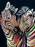 Rompecabezas 1000 Piezas 2 Color Zebras 2 Color Zebras Diy Rompecabezas De Madera Regalo Único Estilo De Decoración Para El Hogar