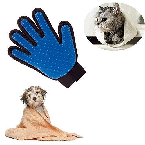 Locisne 2Packs perro de mascota Gato limpieza de baño cepil