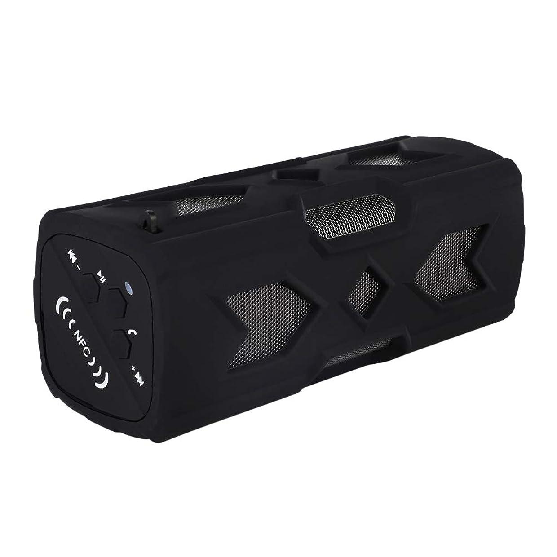 衝突コース何でも宿題Xueliee ポータブルBluetoothワイヤレススピーカー防水モバイルパワーベースステレオサブウーファー 持ち運びが簡単良い音質カラフル 低音強化 臨場感満点
