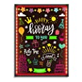 "Hosim LED Message Writing Board,32""x24"" Illuminated Erasable Neon Effect Restaurant Menu Sign with 8 colors Markers, 7 Colors Flashing Mode DIY Message Chalkboard for Kitchen Wedding Promotions (6080)"