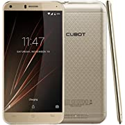 Cubot Manito Smartphone ( 12,7 cm (5 Zoll) HD Touchscreen, 16 GB, Android 6.0) Gold