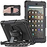 SEYMAC Case for All-New Amazon Fire HD 10 Tablet 10.1""