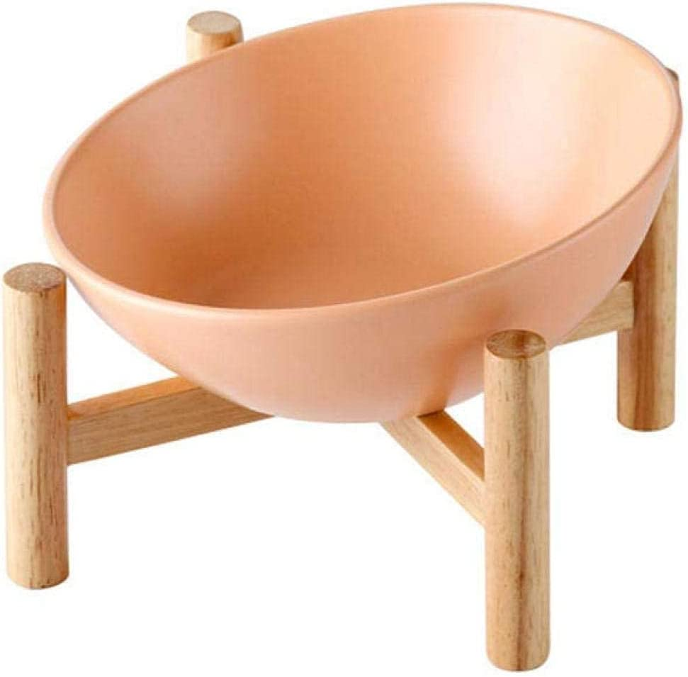 XHJTD Popular Excellent overseas Pet Feeding Bowl Tilted Woo Elevated Raised with