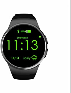 Reloj Deportivo con Rastreador de Actividad con Notificación de WhatsApp /Monitor de Calorías y Sueño/Control de Sueño/Control de Música/Actividad Monitor/Deportes Pulsera para Smartphones iOS Android