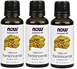 Now Foods Pure Frankincense Oil - 1 Ounce (Pack of 3)