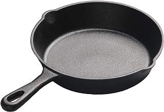 iFCOW - Sartén de hierro fundido para cocina, Hierro fundido, 14cm
