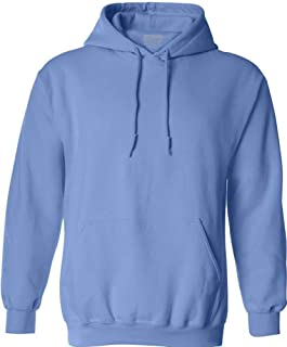 Joe's USA Hoodies Soft & Cozy Hooded Sweatshirts in 62 Colors. in Sizes S-5XL Carolina Blue