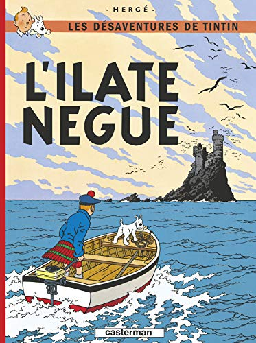 Tintin l'ile noire en saintongeais
