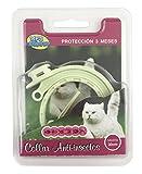 BPS® Collar Antiparasitario para Mascotas Perros/Gatos Antipulgas y Garrapatas Protección 3 Meses BPS-4001 (para Gato 30cm)