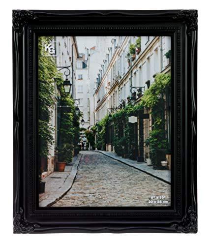 kieragrace Traditional luxury-frames, 8 by 10-Inch, Black