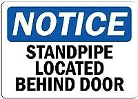 アルミニウム金属ノベルティ危険サイン、ドアサインの後ろにあるスタンドパイプ、パークサインパークガイド警告サイン私有財産用金属屋外危険サイン
