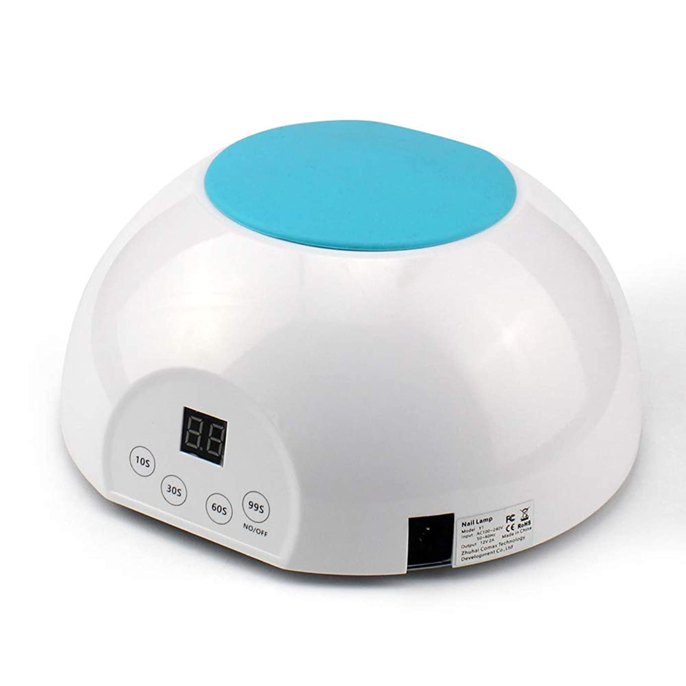 象慢性的エステートネイル光線療法機36Wデジタルディスプレイ21 UV/LEDランプビーズネイルドライヤー