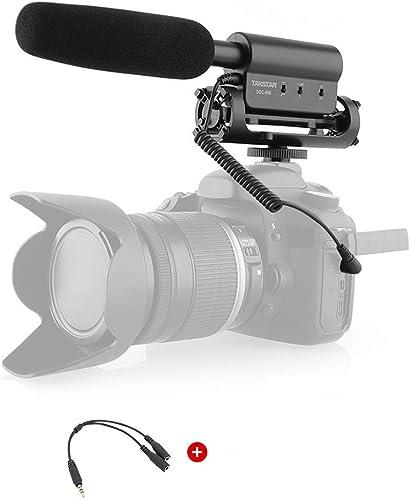 TAKSTAR SGC-598 Interview Microphone for Nikon/Canon Camera/DV Camcorder