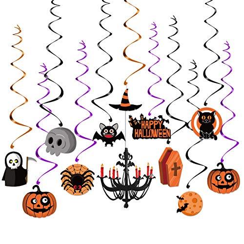 Unomor Decorazione Halloween Ragno Decorazione Ragno Ragno Rete Decorazione Halloween Hängen Wirbelt
