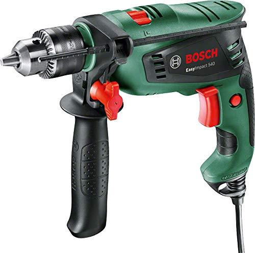 Bosch EasyImpact 540 - Taladro percutor (550 vatios, en maletín)