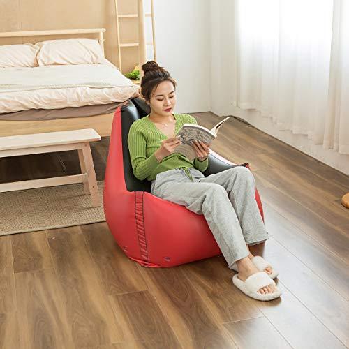 FuncDEme Aufblasbares Lazy Sofa, Family Lounge Chair Klappsofa im Freien Bodenstuhl Sofa, aufblasbare Couch und Luftstuhl, für Indoor Outdoor Camping Garden