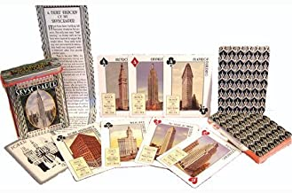 product image for Channel Craft The Vintage Skyscraper Playing Cards in Collectible Tin