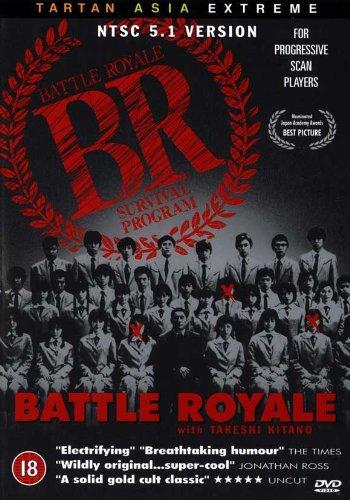 Pop Culture Graphics Battle Royale Poster Movie UK B 11x17 Tatsuya Fujiwara AKI Maeda Taro Yamamoto Masanobu Ando