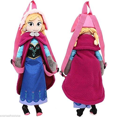 Grande Poupée sac a dos ANNA la reine des neiges 50cm