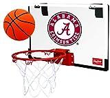 Rawlings NCAA Game On Polycarbonate (PC) Mini Basketball Hoop Set, Alabama Crimson Tide