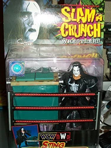 WCW SLAM N' CcourirCH- STING WITH DUMPSTER by Toybiz