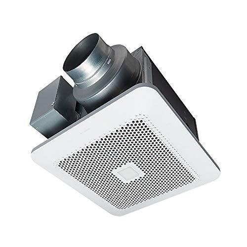 Panasonic WhisperChoice AutoPick-A-Flow 80/110 CFM Ceiling Bathroom Exhaust Fan with Motion/Humidity Sense and Flex-Z Fast Bracket