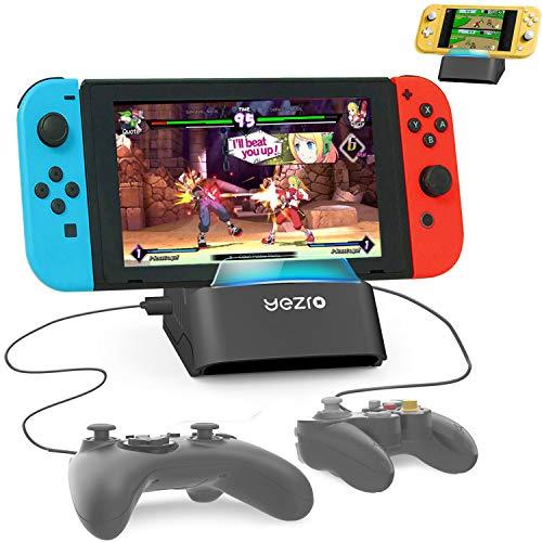 Switch スタンド スイッチ スタンド ニンテンドースイッチ スタンド テーブルモード専用ポータブルUSBハブスタンド4ポートfor Nintendo Switch/Nintendo Switch Lite対応【2021改良型】