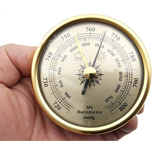 CLX weerstation met metalen ring barometer thermometer hygrometer Thermo interieur digitale hydrometer Digitaal Hoog