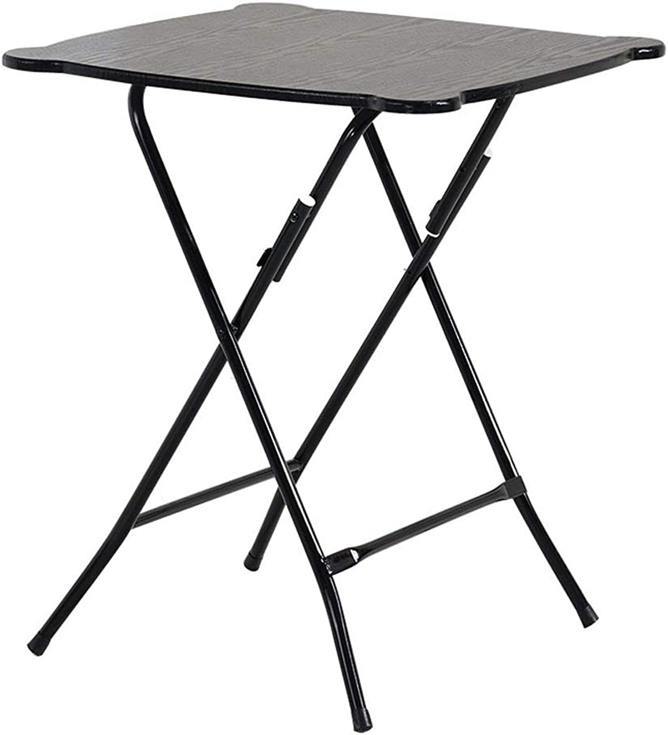 SHWSM Folding Table Dining Table Home Simple Small Apartment 2 People 4 People Portable Dining Table Square Round Small Table Folding Table (color   A)
