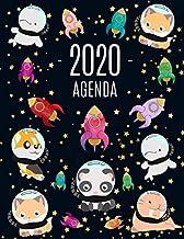 Animali nello Spazio Agenda 2020: Inizia Ora e Dura Fino Dicembre 2020   Pianificatore Settimanale 2020 (12 Mesi)