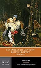 Seventeenth-Century British Poetry, 1603-1660 (First Edition) (Norton Critical Editions)