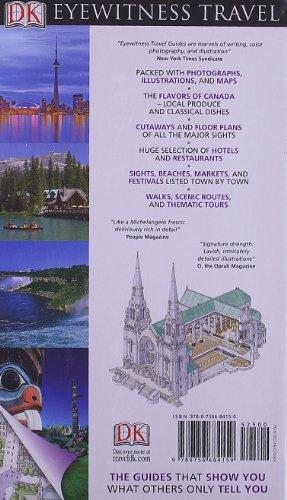 Canada (DK Eyewitness Travel Guides) [Idioma Inglés]