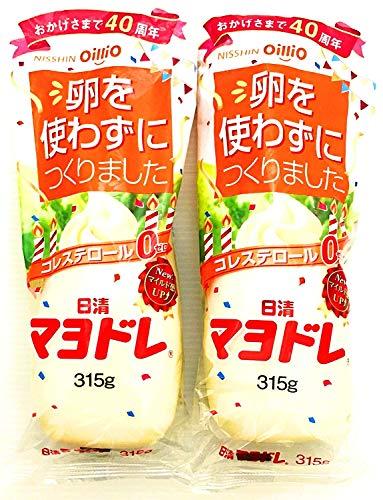 【まとめ買い】日清オイリオ マヨドレ 315g×2本