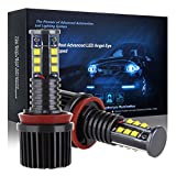 cciyu Angel Eyes Replacement fit for BMW Ultra White 6000K 120W H8 Error Free CREE LED Angel Eyes Halo Ring Marker Bulbs
