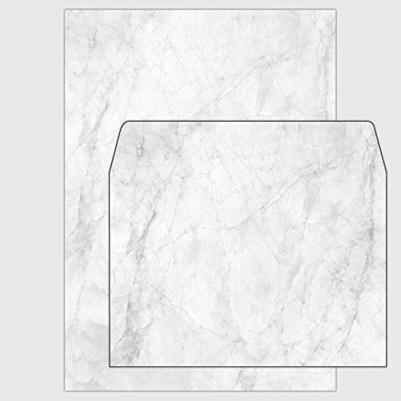 Set  100x Marmorpapier Venato - - - Carrara-grau - DIN A5   150 g   inkl. Umschläge B019ZHR6RS | Deutschland Shops  | Deutschland Outlet  | Feine Verarbeitung  92f050