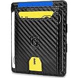 GenTo® Pacific - Geldbörse Herren - TÜV geprüft - Magic Wallet - Magischer Geldbeutel mit großem Münzfach - Inklusive Geschenkbox - Smart Wallet - Portemonnaie Männer