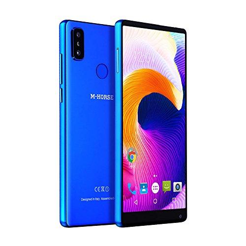 M-HORSE Pure 2 Plein Écran 18: 9 5.99' RAM 4 GB ROM 64 GB 4G LTE Débloqué Smartphone HD + 1440 * 720 Pixel Double Caméra Arrière (16+2) MP Android 7.0 Nougat Mobile Téléphone portabler