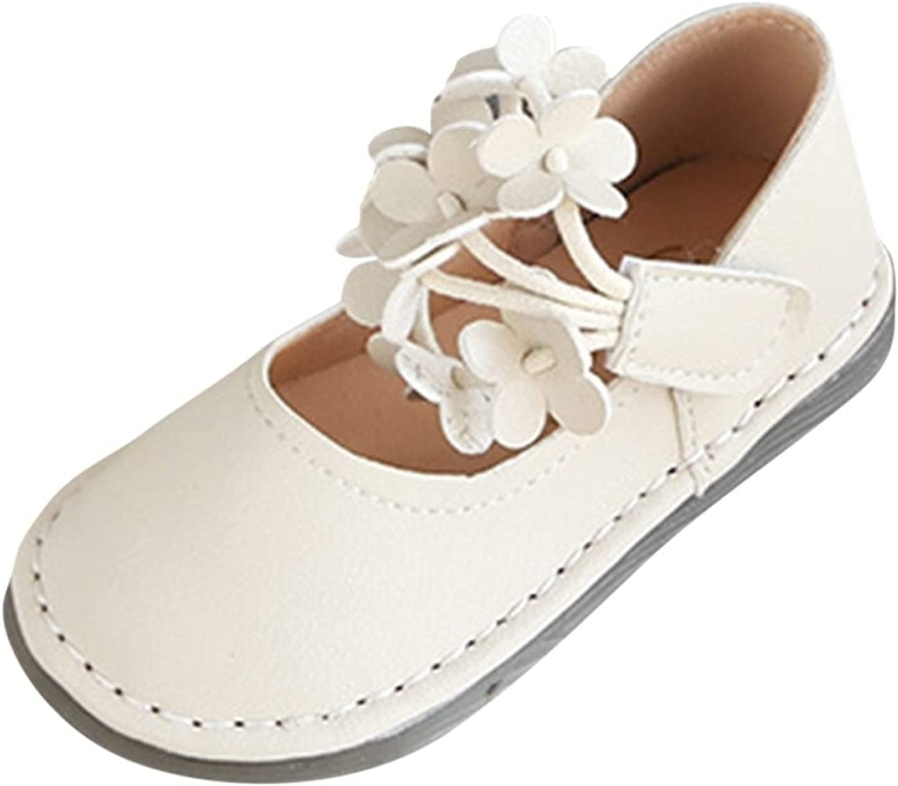 Toddler Infant Kids Baby Max 58% OFF Girls Shallow Princess Limited price sale Flat Shoe Flower