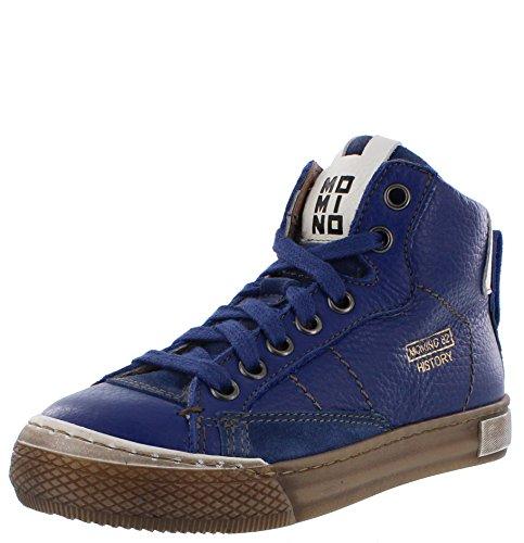 Momino Halbschuhe Sneaker indemoniato blau warm gefüttert Lammfell 30