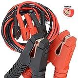 Voilamart Auto Jumper Cables 2 Gauge 1200AMP 20Ft w/Carry Bag, Instruction Slip, Commercial Grade Automotive Booster Cables, Heavy Duty for Car Van Truck