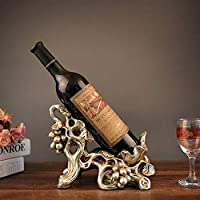 Yangmanini 樹脂工芸クリエイティブホームデコレーションヨーロッパスタイルの赤ワイン用ブドウの新築祝いの贈り物卸売(24 * 16 * 19センチメートル)