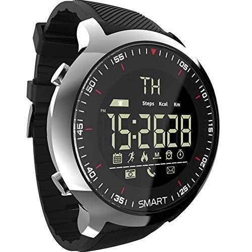 Lokmat MK18 Intelligente Intelligente Uhr Sport LCD wasserdichte Pedometer Nachricht Erinnerung BT Outdoor Schwimmen Männer Smartwatch Stoppuhr