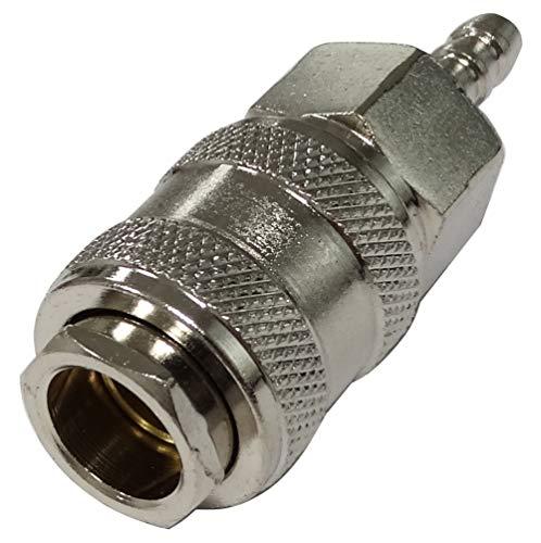 Aerzetix: snelkoppeling perslucht vrouwelijke compressor voor slang 6 mm C41109