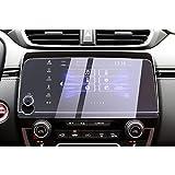 CDEFG para Honda CR-V CRV Touring 2019 2018 2017 Protector de Pantalla de Vidrio Templado, HD Auto 9H GPS Navi película protegida Glass (7 Inches Prevención contra BLU-Ray)