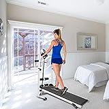 JF-XUAN Machine à Pas Aérobic Fitness Equipement Tapis de Course Machine à Jambes Machine à la Maison Salle de Sport Mini Vélo Poids Perte de Poids Graisse HWC (Color : White)