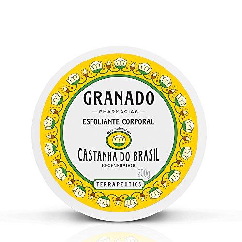 Esfoliante Corporal Terrapeutics Castanha do Brasil, Granado, Amarelo, 200g